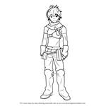 How to Draw Haruhiro from Hai to Gensou no Grimgar