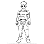 How to Draw Ogu from Hai to Gensou no Grimgar