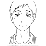 How to Draw Chikara Ennoshita from Haikyuu!!