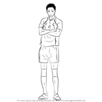 How to Draw Daichi Sawamura from Haikyuu!!