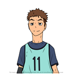 How to Draw Haruki Komi from Haikyuu!!