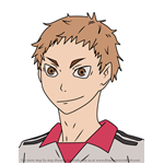 How to Draw Morisuke Yaku from Haikyuu!!