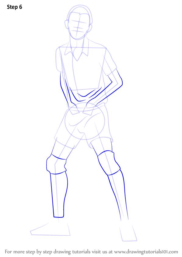 Learn How To Draw Ryunosuke Tanaka From Haikyuu!! (Haikyuu