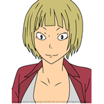 How to Draw Saeko Tanaka from Haikyuu!!