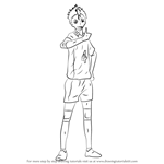 How to Draw Yu Nishinoya from Haikyuu!!