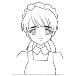 How to Draw Sonou Mori from Haruhi Suzumiya