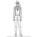 How to Draw Ginjiro Sannomiya from Hatsukoi Monster
