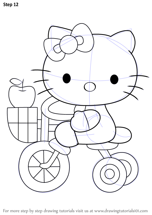 Learn How to Draw Hello Kitty on