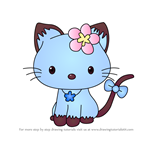 How to Draw Sapphire from Hello Kitty