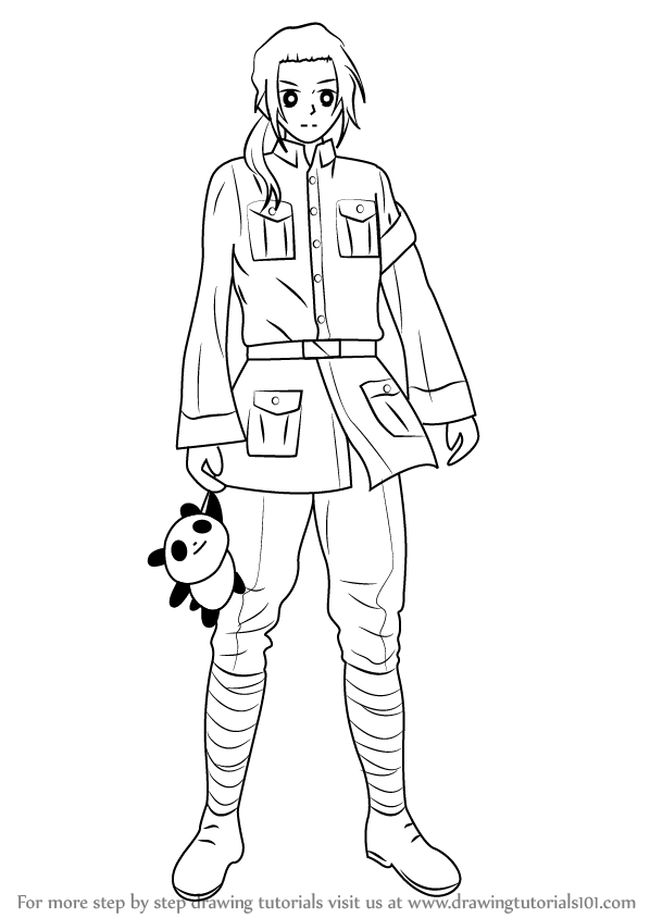 anime hetalia coloring pages - photo#46