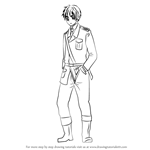 How to Draw England from Hetalia: Axis Powers