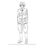How to Draw Finland from Hetalia: Axis Powers