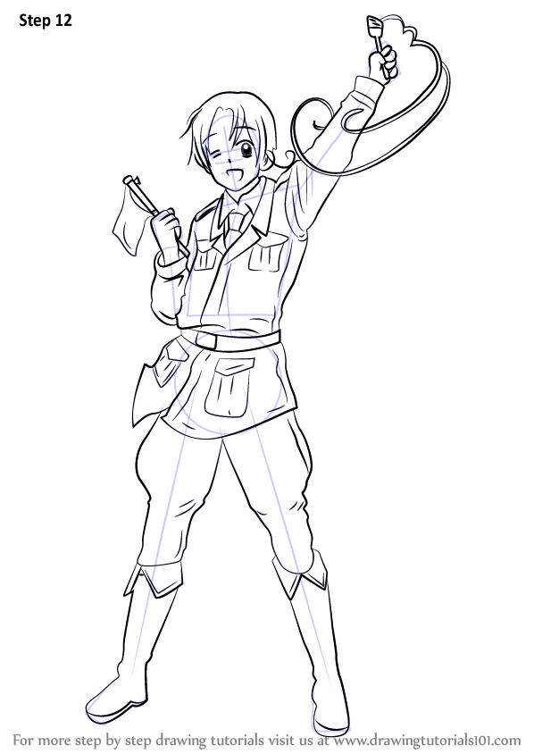 anime hetalia coloring pages - photo#49