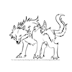 How to Draw Fenrir from High School DxD