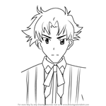 How to Draw Genshirou Saji from High School DxD