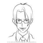 How to Draw Koichi Shido from Highschool of the Dead