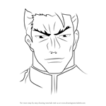 How to Draw Souichiro Takagi from Highschool of the Dead