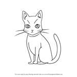How to Draw Cammot Cat from Holy Knight