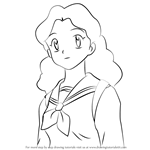 How to Draw Ayumi from Inuyasha