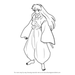 How to Draw Inuyasha from Inuyasha