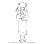 How to Draw Kanna from Inuyasha