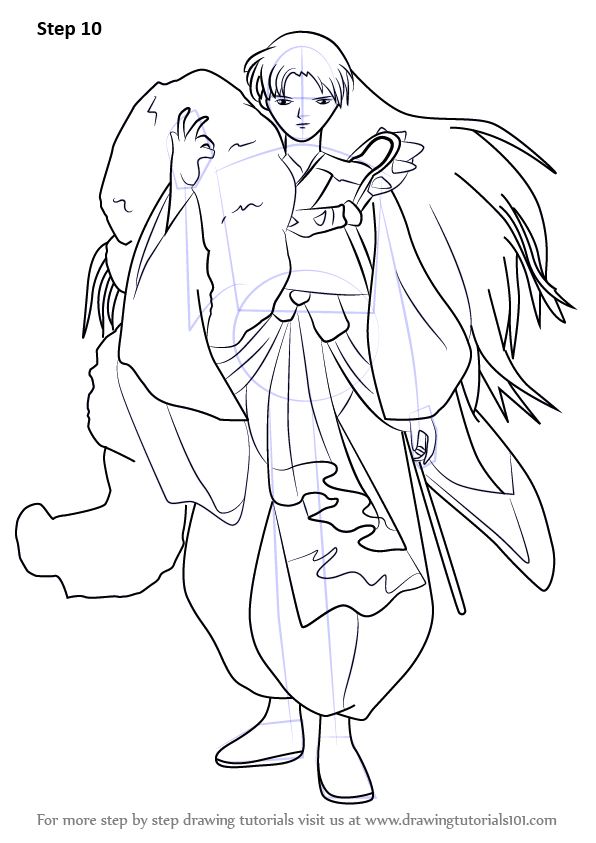 Sesshomaru Coloring Pages