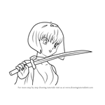 How to Draw Yura from Inuyasha