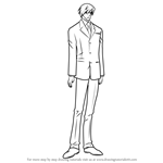 How to Draw Akihiko Usami from Junjou Romantica