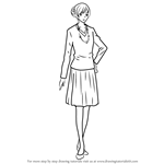 How to Draw Eri Aikawa from Junjou Romantica