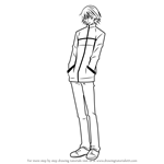 How to Draw Misaki Takahashi from Junjou Romantica