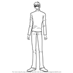 How to Draw Nowaki Kusama from Junjou Romantica