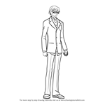 How to Draw Shinobu Takatsuki from Junjou Romantica