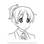 How to Draw Ui Hirasawa from K-ON!!