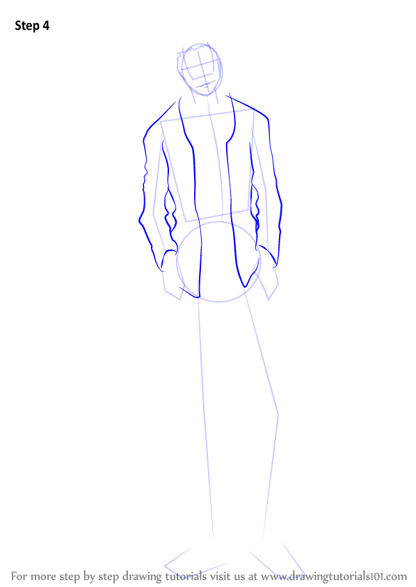 Step By Step How To Draw Mikoto Suoh From K Project