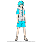How to Draw Hibiya Amamiya from Kagerou Project