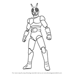 How to Draw Kamen Rider