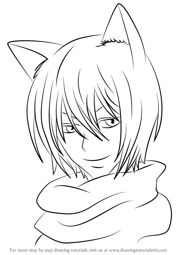 Step by Step How to Draw Tomoe