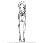 How to Draw Mina from Karakai Jouzu no Takagi-san