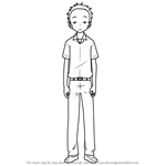 How to Draw Nakai from Karakai Jouzu no Takagi-san