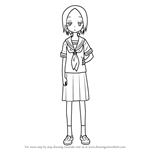 How to Draw Sanae from Karakai Jouzu no Takagi-san