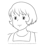How to Draw Osono from Kiki's Delivery Service