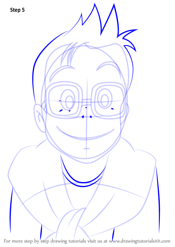 Step by step how to draw tombo from kiki 39 s delivery for Kiki s delivery service coloring pages