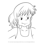 How to Draw Ursula from Kiki's Delivery Service