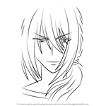 How to Draw King of the Night from Kore wa Zombie desu ka?