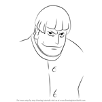 How to Draw Hojo from Kill la Kill
