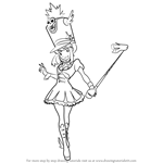 How to Draw Nonon Jakuzure from Kill la Kill