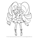 How to Draw Nui Harime from Kill la Kill