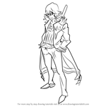 How to Draw Uzu Sanageyama from Kill la Kill