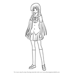 How to Draw Kirara Hoshikawa from Kore wa Zombie desu ka?