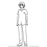 How to Draw Shimomura from Kore wa Zombie desu ka?